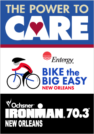 power to care bike the big easy ironman