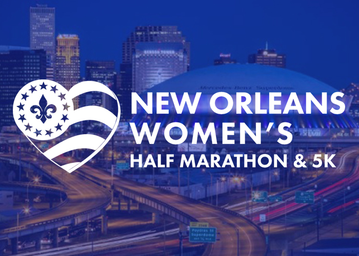 New Orleans Women's Half Marathon And 5K