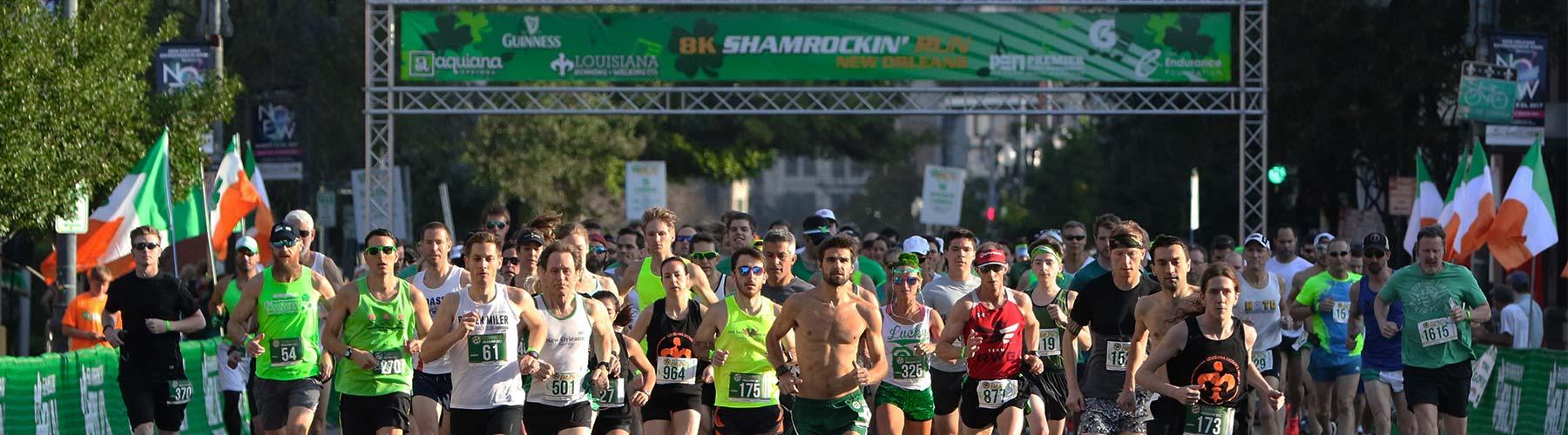 shamrockin run new orleans hero
